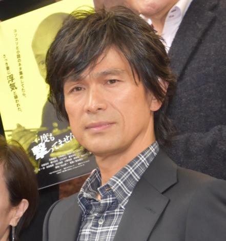 映画『一度も撃ってません』の完成報告会に出席した江口洋介 (C)ORICON NewS inc.