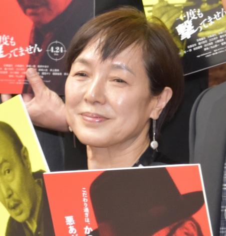 映画『一度も撃ってません』の完成報告会に出席した桃井かおり (C)ORICON NewS inc.