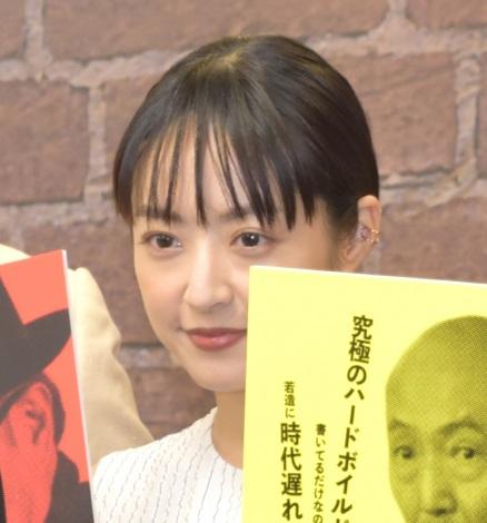 映画『一度も撃ってません』の完成報告会に出席した井上真央 (C)ORICON NewS inc.