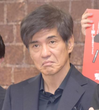 映画『一度も撃ってません』の完成報告会に出席した佐藤浩市 (C)ORICON NewS inc.
