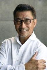 WOWOW『連続ドラマW 華麗なる一族』(2021年放送予定)銀行の頭取・万俵大介役の中井貴一