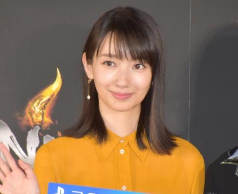 PS4用戦国アクションゲーム『仁王2』の完成披露発表会に参加した波瑠 (C)ORICON NewS inc.