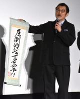 映画『カイジ ファイナルゲーム』の初日舞台あいさつに登壇した吉田鋼太郎 (C)ORICON NewS inc.