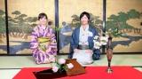 生け花に挑戦(C)テレビ朝日