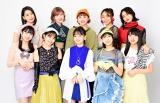 『Hello! Project ひなフェス 2020』最終日メインアクトのアンジュルム(後列右から2人目が室田瑞希)