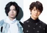 舞台『染、色』の脚本を務める加藤シゲアキと主演を務める正門良規