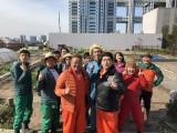 3月15日放送、『いつものゴハンを1から作る』お笑い芸人・女優が真冬の都会で野菜づくりに挑戦(C)テレビ東京