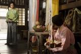 大河ドラマ『麒麟がくる』第9回(3月15日放送)光秀(長谷川博己)は幼い頃に一緒に遊んだ熙子(木村文乃)と再会(C)NHK