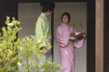 大河ドラマ『麒麟がくる』第9回(3月15日放送)「大きくなったら十兵衛のお嫁におなり」と言われたと、光秀(長谷川博己)に話す熙子(木村文乃)(C)NHK