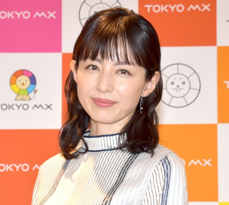 『news TOKYO flag』でメインキャスターを担当する平井理央 (C)ORICON NewS inc.