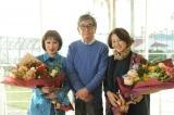 帯ドラマ劇場『やすらぎの刻〜道』「やすらぎ」パートも撮影を終え、浅丘ルリ子(右)と加賀まりこ(左)もクランクアップ(C)テレビ朝日