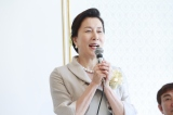 映画『お終活 熟春!人生、百年時代の過ごし方』の製作発表記者会見に出席した高畑淳子