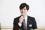 映画『お終活 熟春!人生、百年時代の過ごし方』の製作発表記者会見に出席した水野勝