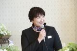 映画『お終活 熟春!人生、百年時代の過ごし方』の製作発表記者会見に出席した松下由樹