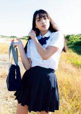 『週刊プレイボーイ』8号でグラビアデビューを果たしたMayuri(C)笠井爾示/週刊プレイボーイ