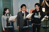 『TBSラジオ オリジナルドラマ「半沢直樹」敗れし者の物語by AudioMovie』収録の模様(C)TBSラジオ