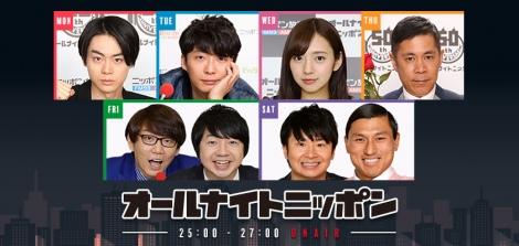 ニッポン放送『オールナイトニッポン』が全局中同時間帯を単独首位獲得