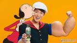 AJINOMOTO オリーブオイルの新TVCM 『Let's OLIVE! 登場』篇に出演する大野智