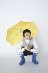 ぼっちゃん役:濱田岳=ミニドラマ『きょうの猫村さん』(4月8日スタート)(C)テレビ東京
