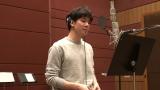 柿澤勇人の音楽録音の様子=3月20日放送、総合『もうすぐ!連続テレビ小説「エール」』(C)NHK