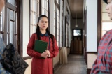 連続テレビ小説『エール』夏目千鶴子役で出演する小南満佑子(C)NHK