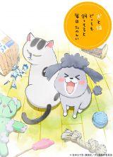 アニメ「犬と猫どっちも飼ってると毎日たのしい」のキービジュアル (C)松本ひで吉・講談社/犬と猫製作委員会