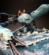第19回「全日本オラザク選手権ジオラマ部門」銀賞作品:作品名:camouflage(カモフラージュ)/制作:仁誠(C)創通・サンライズ