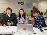 ゲスト(左から)小林幸子、アンミカ、井戸田潤(C)NHK