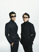 藤井フミヤ(右)、藤井尚之(左)による兄弟ユニット・F-BLOOD
