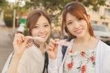 乃木坂46初の旅行ガイドブックが発売=ハワイを旅した白石麻衣(左)&松村沙友理(撮影/鈴木健太)