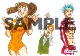 漫画『七つの大罪』のカラーイラスト (C)講談社
