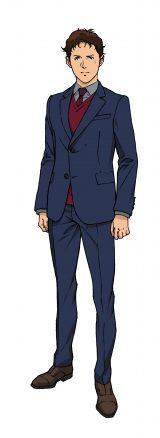 劇場版『機動戦士ガンダム 閃光のハサウェイ』ハサウェイ・ノアキャラクタービジュアル(C)創通・サンライズ
