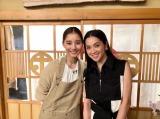 新木優子&中村アンの美女2ショット (写真は公式ブログより)