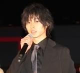 映画『劇場』完成記念イベントに出席した山崎賢人 (C)ORICON NewS inc.