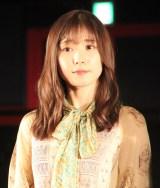 映画『劇場』完成記念イベントに出席した松岡茉優 (C)ORICON NewS inc.