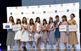 ミスキャンパスコンテスト『MISS OF MISS CAMPUS QUEEN CONTEST 2020』の模様 (C)ORICON NewS inc.