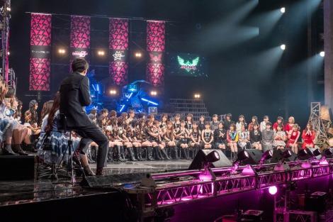 ガールズグループ7組68人がクロストークする『RAGAZZE!〜少女たちよ!〜』(C)NHK