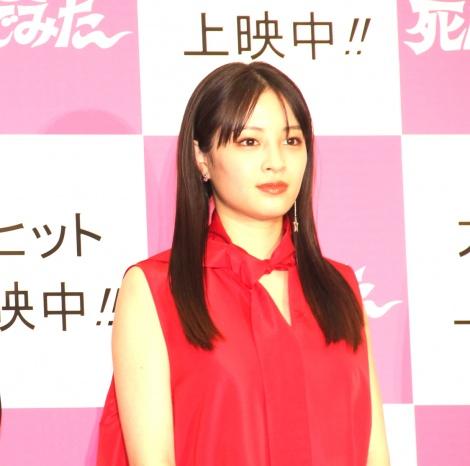映画『一度死んでみた』公開初日記念イベントに登場した広瀬すず (C)ORICON NewS inc.