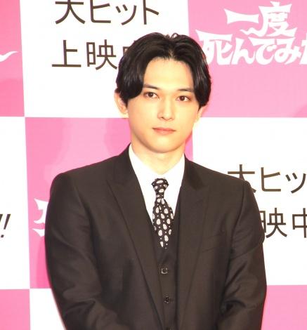 映画『一度死んでみた』公開初日記念イベント登場した吉沢亮 (C)ORICON NewS inc.