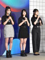 『超十代2020 デジタル』に出演したNMB48(左から)山本彩加、上西怜、梅山恋和 (C)ORICON NewS inc.