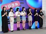 (左から)杉本愛里、木内舞留、瀬戸琴楓、大友樹乃、山本彩加、上西怜、梅山恋和