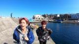 2日放送の『その旅、便乗してもいいですか?』に出演するSixTONESの田中樹とジェシー (C)TBS