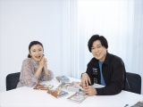 『キングダム』愛を語った(左から)小島瑠璃子、森田成一(C)原泰久/集英社・キングダム製作委員会