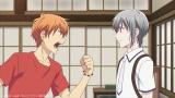 夾&由希=アニメ「フルーツバスケット」2nd seasonの第1話場面カット