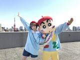 @小豆とクレヨンしんちゃんのコラボが実現(C)臼井儀人/双葉社・シンエイ・テレビ朝日・ADK 2020