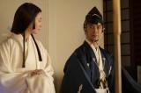 大河ドラマ『麒麟がくる』第12回「十兵衛の嫁」より。美濃では、光秀(長谷川博己)が熙子(木村文乃)を妻に迎える(C)NHK