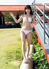 『週刊ヤングマガジン』第16号の表紙を飾った染野有来(C)Takeo Dec. /ヤングマガジン