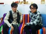 藤井フミヤ(右)、藤井尚之(左)の兄弟ユニット・F-BLOOD (C)ORICON NewS inc.