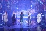 「STARTING OVER」を歌唱するLittle Glee Monster(C)フジテレビ