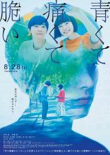 『青くて痛くて脆い』のポスタービジュアル(C)2020映画「青くて痛くて脆い」製作委員会